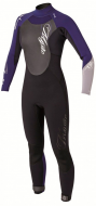 Гидрокостюм женский Mystic Star 5/4 D/L Fullsuit Women Black/Purple