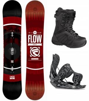 Сноуборд комплект Flow (2015) negro