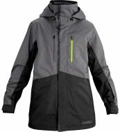 Dakine Mens Fuse Jacket Charcoal Heather/Black