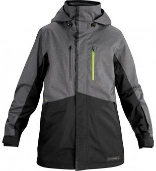 Dakine Mens Fuse Jacket Charcoal Heather/Black