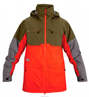 Dakine Mens Force Jacket Army/Octane