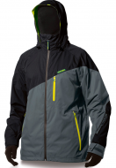 Dakine 15К Mens Zone Jacket Black/Gunmetal