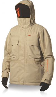 Dakine 15К Mens Throttle Jacket Khaki