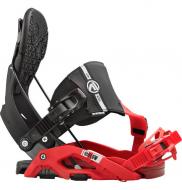 Крепление для сноуборда Flow Nexus Hybrid Blk/Red (2016)