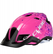 Шлем Cube Helm CMPT Youth pink triangle