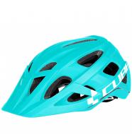 Шлем Cube Helm AM Race Iceblue´n´white