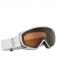 Маска Scott Dana Goggle white/light sensitive bronze chrome