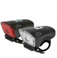 Комплект фонарей Cube Lichtset LTD+ black´n´black