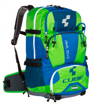 Рюкзак Cube Backpack AMS 30+5 blue´n´green