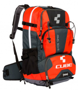 Рюкзак Cube Backpack AMS 30+5 black´n´flashred