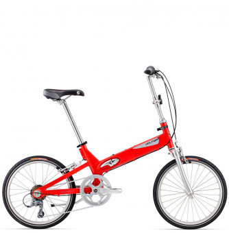 Велосипед складной Giant Halfway red (2016)