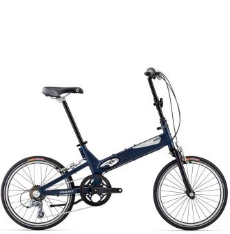 Велосипед складной Giant Halfway blue (2016)