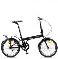 Велосипед складной Shulz Max (2016) Черный матовый
