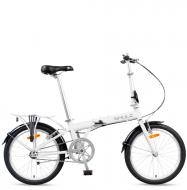 Велосипед складной Shulz Max (2016) Белый