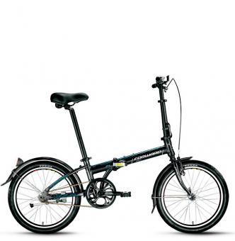 Велосипед складной Forward Enigma 1.0 (2016) black