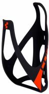 Флягодержатель Cube Bottle Cage HPP матовый черный/ярко-красный