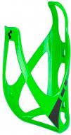 Флягодержатель Cube Bottle Cage HPP глянцевый зеленый/черный