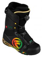 Ботинки для сноуборда Flow Rival Coiler black/red (2013)
