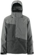 Куртка Scott Avett dark grey wool/black wool