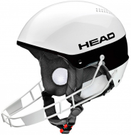 Шлем Head Stivot SL + Chinguard (2015) white