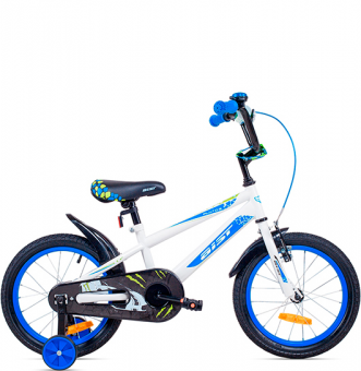 Детский велосипед Aist Pluto 16 White