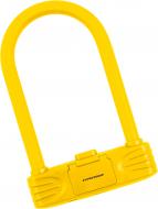 Замок велосипедный KZU 250 желтый