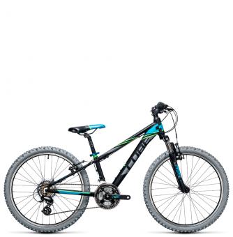 Подростковый велосипед Cube Kid 240 (2017) black´n´blue