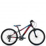 Подростковый велосипед Cube Kid 240 (2017) black´n´flashred