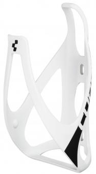 Флягодержатель Cube Bottle Cage HPP матовый белый/черный