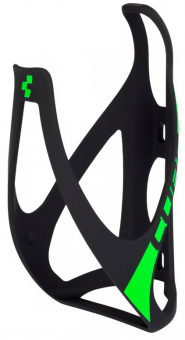 Флягодержатель Cube Bottle Cage HPP матовый черный/зеленый