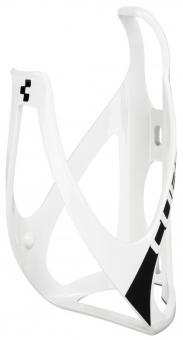 Флягодержатель Cube Bottle Cage HPP глянцевый белый/черный