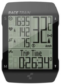 Велокомпьютер беспроводной Cube Cycle Computer Race Train Set