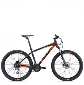 Велосипед Giant Talon 3 black/orange (2017)