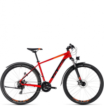 Велосипед Cube Aim Allroad 27,5 (2018) red´n´black