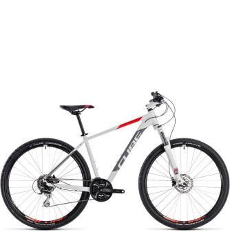 Велосипед Cube Aim Race 27,5 (2018) white´n´red