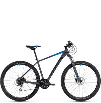 Велосипед Cube Aim Race 27,5 (2018) grey´n´blue
