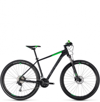 Велосипед Cube Aim SL 27,5 (2018) black´n´flashgreen