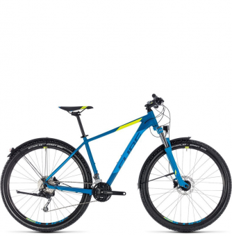 Велосипед Cube Aim SL Allroad 29 (2018) blue´n´flashyellow