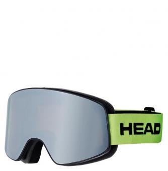 Маска Head Horizon Race+Sparelens grey/green (2017)