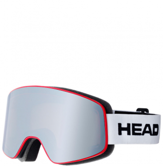 Маска Head Horizon FMR matt grey/red/ white (2017)