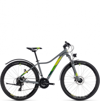 "Велосипед Cube Access WS Allroad 27,5"" (2018)  grey´n´green"