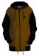 Удлинённая куртка-толстовка Чукча Софт-Шелл хаки-чёрный 1