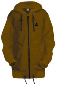Удлинённая куртка-толстовка Чукча Софт-Шелл хаки