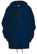 Удлинённая куртка-толстовка Чукча Софт-Шелл тёмно-синий