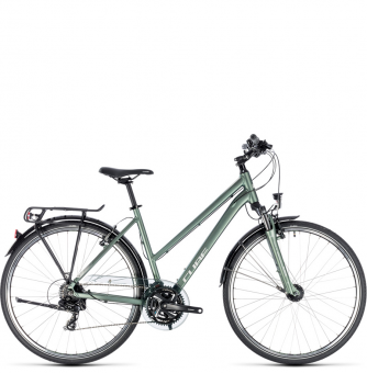 Велосипед Cube Touring Trapeze (2018) green´n´silver