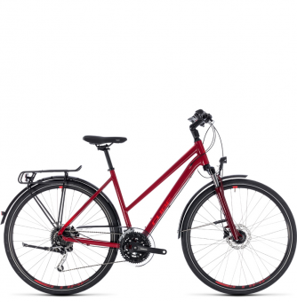 Велосипед Cube Touring EXC Trapeze (2018) darkred´n´red