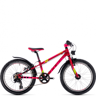 Детский велосипед Cube KID 200 Allroad (2018) berry´n´pink´n´kiwi.