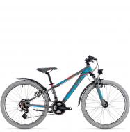 Подростковый велосипед Cube Kid 240 Allroad (2018) grey´n´blue