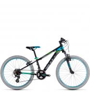 Подростковый велосипед Cube Kid 240 (2018) black´n´blue