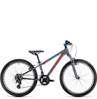 Подростковый велосипед Cube Kid 240 (2018) action team grey